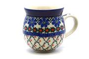Ceramika Artystyczna Polish Pottery Mug - 15 oz. Bubble - Primrose 073-854a (Ceramika Artystyczna)