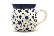 Ceramika Artystyczna Polish Pottery Mug - 15 oz. Bubble - Star Struck 073-359Aa (Ceramika Artystyczna)