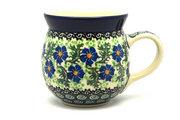 Ceramika Artystyczna Polish Pottery Mug - 15 oz. Bubble - Sweet Violet 073-1538a (Ceramika Artystyczna)