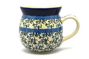 Ceramika Artystyczna Polish Pottery Mug - 15 oz. Bubble - Terrace Vines 073-1822a (Ceramika Artystyczna)