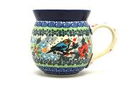 Ceramika Artystyczna Polish Pottery Mug - 15 oz. Bubble - Unikat Signature U3184 073-U3184 (Ceramika Artystyczna)