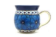 Ceramika Artystyczna Polish Pottery Mug - 15 oz. Bubble - Unikat Signature U408C 073-U408C (Ceramika Artystyczna)