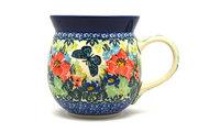 Ceramika Artystyczna Polish Pottery Mug - 15 oz. Bubble - Unikat Signature U4553 073-U4553 (Ceramika Artystyczna)