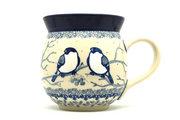 Ceramika Artystyczna Polish Pottery Mug - 15 oz. Bubble - Unikat Signature U4830 073-U4830 (Ceramika Artystyczna)