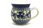 Ceramika Artystyczna Polish Pottery Mug - 15 oz. Bubble - Winter Viola 073-2273a (Ceramika Artystyczna)