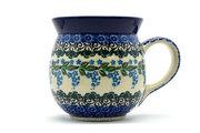 Ceramika Artystyczna Polish Pottery Mug - 15 oz. Bubble - Wisteria 073-1473a (Ceramika Artystyczna)