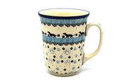 Ceramika Artystyczna Polish Pottery Mug - 16 oz. Bistro - Diggity Dog 812-2152a (Ceramika Artystyczna)