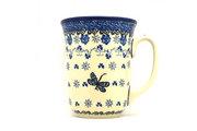 Ceramika Artystyczna Polish Pottery Mug - 16 oz. Bistro - Dragonfly 812-2009a (Ceramika Artystyczna)