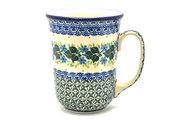 Ceramika Artystyczna Polish Pottery Mug - 16 oz. Bistro - Ivy Trail 812-1898a (Ceramika Artystyczna)