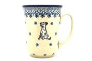 Ceramika Artystyczna Polish Pottery Mug - 16 oz. Bistro - Sparky 812-2602a (Ceramika Artystyczna)