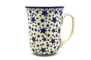 Ceramika Artystyczna Polish Pottery Mug - 16 oz. Bistro - Star Struck 812-359Aa (Ceramika Artystyczna)