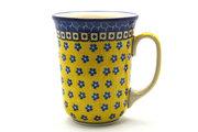 Ceramika Artystyczna Polish Pottery Mug - 16 oz. Bistro - Sunburst 812-859a (Ceramika Artystyczna)