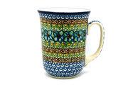 Ceramika Artystyczna Polish Pottery Mug - 16 oz. Bistro - Unikat Signature U151 812-U0151 (Ceramika Artystyczna)