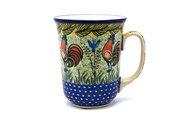 Ceramika Artystyczna Polish Pottery Mug - 16 oz. Bistro - Unikat Signature U2663 812-U2663 (Ceramika Artystyczna)