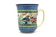 Ceramika Artystyczna Polish Pottery Mug - 16 oz. Bistro - Unikat Signature U3184 812-U3184 (Ceramika Artystyczna)