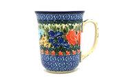 Ceramika Artystyczna Polish Pottery Mug - 16 oz. Bistro - Unikat Signature U3516 812-U3516 (Ceramika Artystyczna)