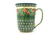Ceramika Artystyczna Polish Pottery Mug - 16 oz. Bistro - Unikat Signature U4336 812-U4336 (Ceramika Artystyczna)