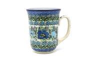 Ceramika Artystyczna Polish Pottery Mug - 16 oz. Bistro - Unikat Signature U4520 812-U4520 (Ceramika Artystyczna)