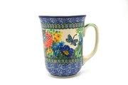 Ceramika Artystyczna Polish Pottery Mug - 16 oz. Bistro - Unikat Signature U4612 812-U4612 (Ceramika Artystyczna)