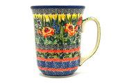 Ceramika Artystyczna Polish Pottery Mug - 16 oz. Bistro - Unikat Signature U4616 812-U4616 (Ceramika Artystyczna)