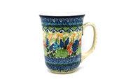 Ceramika Artystyczna Polish Pottery Mug - 16 oz. Bistro - Unikat Signature U4695 812-U4695 (Ceramika Artystyczna)