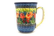 Ceramika Artystyczna Polish Pottery Mug - 16 oz. Bistro - Unikat Signature U4779 812-U4779 (Ceramika Artystyczna)