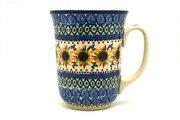 Ceramika Artystyczna Polish Pottery Mug - 16 oz. Bistro - Unikat Signature U4860 812-U4860 (Ceramika Artystyczna)