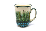 Ceramika Artystyczna Polish Pottery Mug - 16 oz. Bistro - Unikat Signature U803 812-U0803 (Ceramika Artystyczna)
