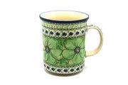 Ceramika Artystyczna Polish Pottery Mug - Big Straight Sided - Unikat Signature - U408A B13-U408A (Ceramika Artystyczna)