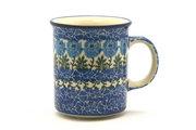 Ceramika Artystyczna Polish Pottery Mug - Straight Sided - Antique Rose 236-1390a (Ceramika Artystyczna)