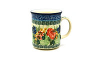 Ceramika Artystyczna Polish Pottery Mug - Straight Sided - Unikat Signature - U4400 236-U4400 (Ceramika Artystyczna)