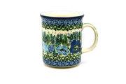 Ceramika Artystyczna Polish Pottery Mug - Straight Sided - Unikat Signature - U4520 236-U4520 (Ceramika Artystyczna)