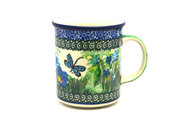 Ceramika Artystyczna Polish Pottery Mug - Straight Sided - Unikat Signature - U4612 236-U4612 (Ceramika Artystyczna)