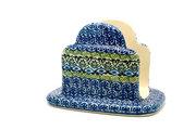 Ceramika Artystyczna Polish Pottery Napkin Holder - Tranquility 487-1858a (Ceramika Artystyczna)