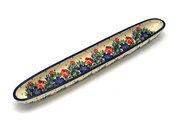 "Ceramika Artystyczna Polish Pottery Olive Boat - 12"" - Garden Party 924-1535a (Ceramika Artystyczna)"