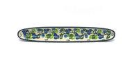 Ceramika Artystyczna Polish Pottery Olive Boat - Blue Berries 923-1416a (Ceramika Artystyczna)