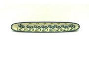 Ceramika Artystyczna Polish Pottery Olive Boat - Blue Spring Daisy 923-614a (Ceramika Artystyczna)