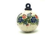 Ceramika Artystyczna Polish Pottery Ornament - Ball - Garden Party 186-1535a (Ceramika Artystyczna)