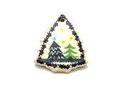 Ceramika Artystyczna Polish Pottery Ornament - Christmas Tree - Christmas Trees A87-1284a (Ceramika Artystyczna)