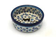 Ceramika Artystyczna Polish Pottery Pet Dish - 10 oz. - Boo Boo Kitty 365-1771a (Ceramika Artystyczna)
