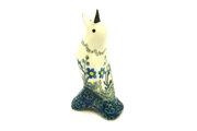 Ceramika Artystyczna Polish Pottery Pie Bird - Blue Spring Daisy C14-614a (Ceramika Artystyczna)