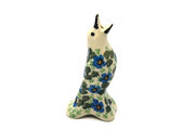 Ceramika Artystyczna Polish Pottery Pie Bird - Morning Glory C14-1915a (Ceramika Artystyczna)