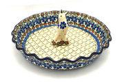 Ceramika Artystyczna Polish Pottery Pie Set - Primrose S63-854a (Ceramika Artystyczna)