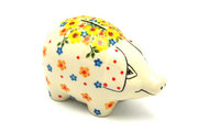 Ceramika Artystyczna Polish Pottery Piggy Bank - Buttercup 155-2225a (Ceramika Artystyczna)