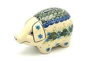 Ceramika Artystyczna Polish Pottery Piggy Bank - Ivy Trail 155-1898a (Ceramika Artystyczna)