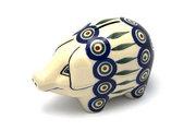 Ceramika Artystyczna Polish Pottery Piggy Bank - Peacock 155-054a (Ceramika Artystyczna)