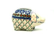 Ceramika Artystyczna Polish Pottery Piggy Bank - Primrose 155-854a (Ceramika Artystyczna)