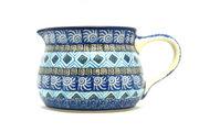 Ceramika Artystyczna Polish Pottery Pitcher - 15 oz. - Aztec Sky 009-1917a (Ceramika Artystyczna)