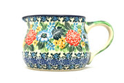 Ceramika Artystyczna Polish Pottery Pitcher - 15 oz. - Unikat Signature - U3271 009-U3271 (Ceramika Artystyczna)
