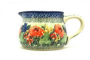 Ceramika Artystyczna Polish Pottery Pitcher - 15 oz. - Unikat Signature - U4400 009-U4400 (Ceramika Artystyczna)